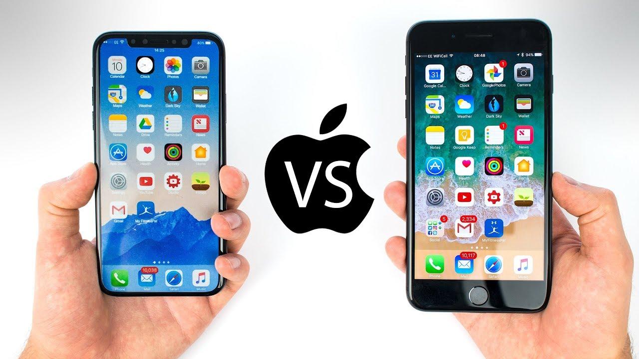 В чем отличия iPhone X от iPhone 8
